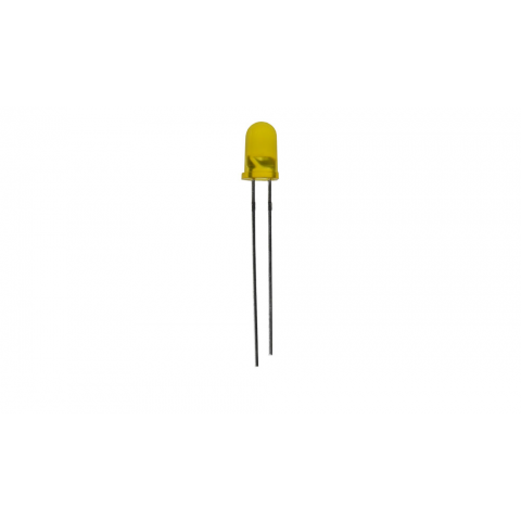 YELLOW 5MM T1 3/4 LED