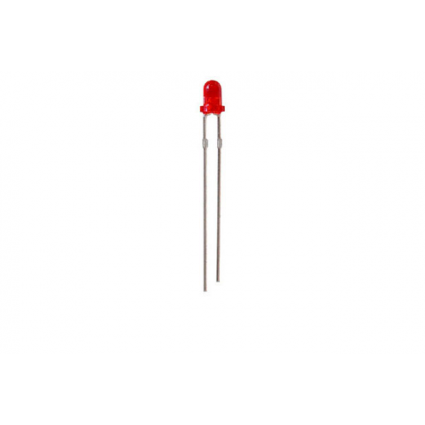 T1 RED LED, POINT SOURCE