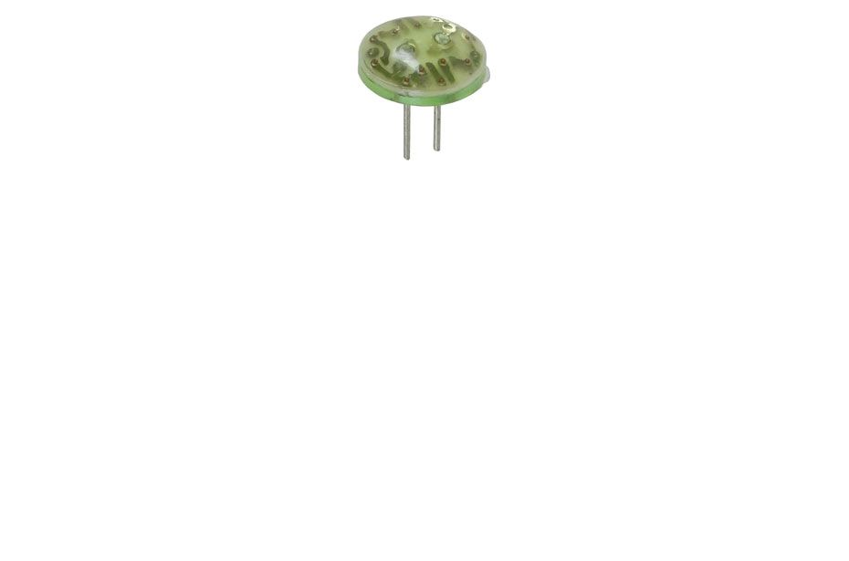 GREEN DOME LED, 12VDC