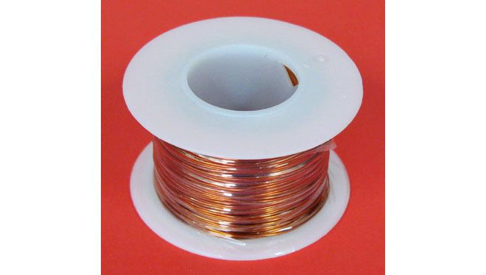 28 AWG MAGNET WIRE, 1/4 LB ROLL
