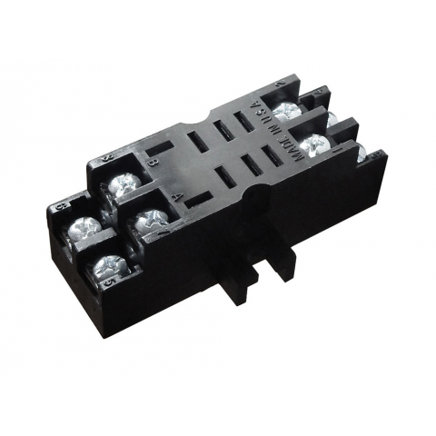8-PIN MIDGET RELAY SOCKET, SCREW TERMINALS