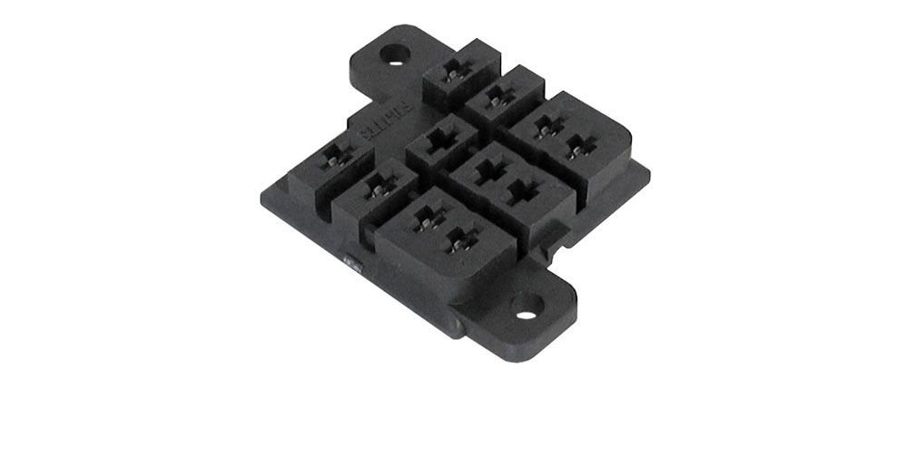PC MOUNT RELAY SOCKET FOR KU STYLE DPDT