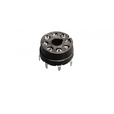 8 PIN P.C. MOUNT SOCKET