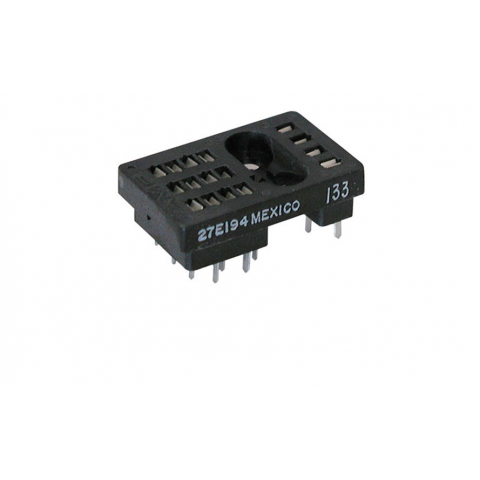 PC MOUNT R10 RELAY SOCKET
