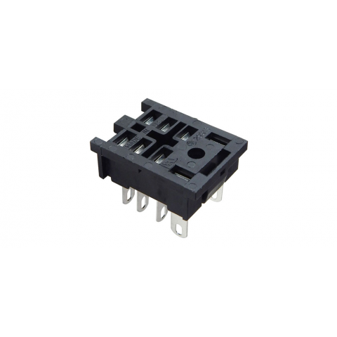 8-PIN MIDGET RELAY SOCKET, SOLDER TERMINALS