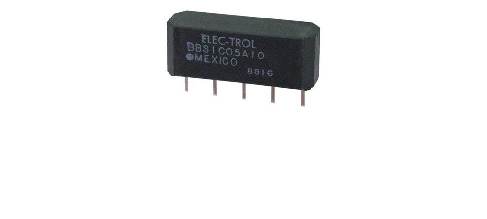 5-PCS RELAY REED SPST W//DIODE 5VDC CLARE PRMA1A05B 1A05