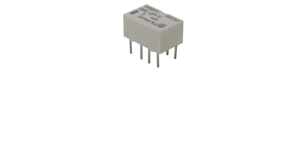 ULTRA-SMALL 5 VDC DPDT RELAY