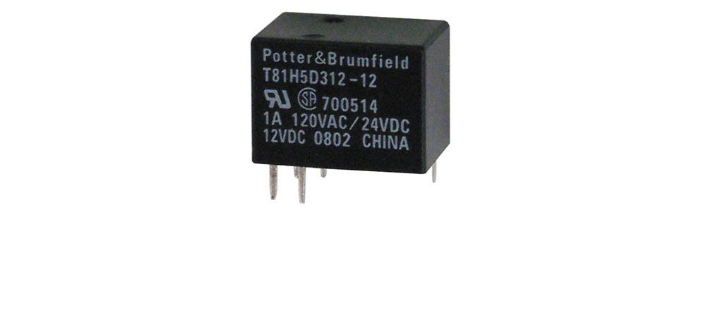 MINIATURE 12 VDC RELAY