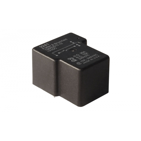 12VDC SPDT 20/10A PC MOUNT RELAY