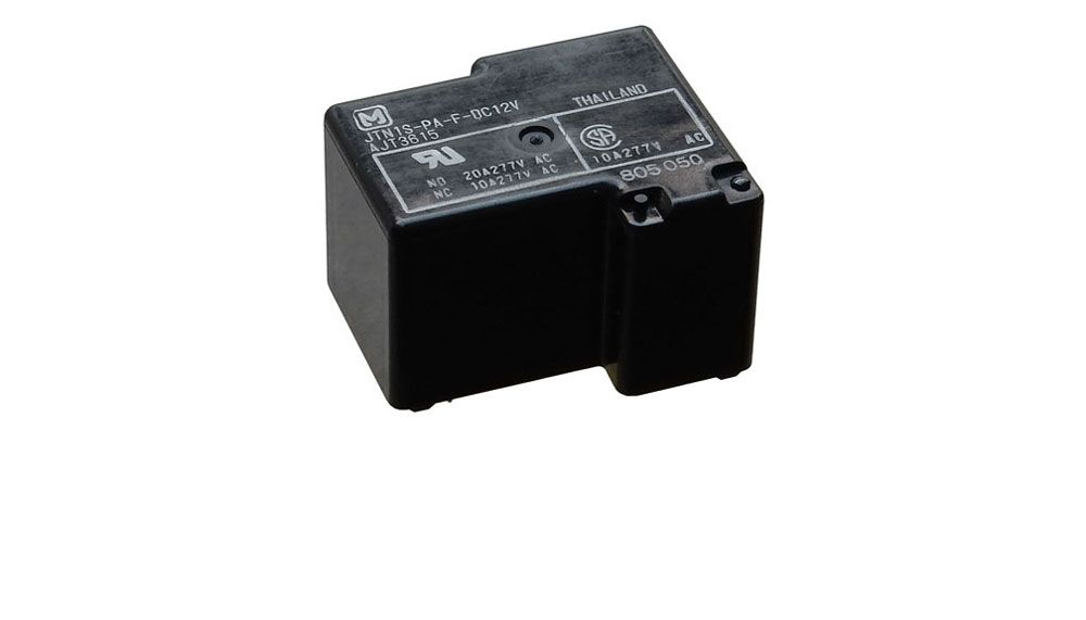 12 VDC PC MOUNT POWER RELAY