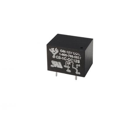 12VDC SPDT 10A RELAY, PC MOUNT
