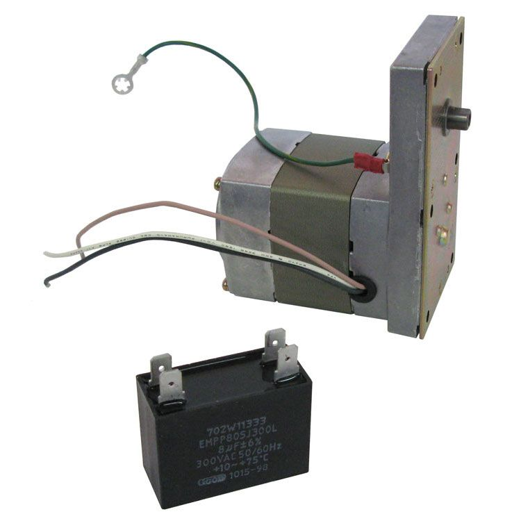 REVERSIBLE AC MOTOR W/ GEAR REDUCTION ASSEMBLY