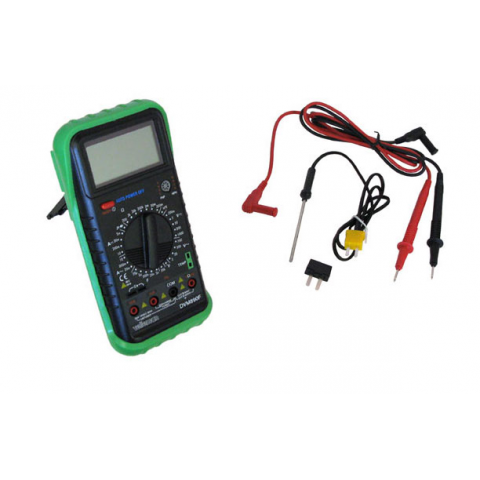 LCD MULTIMETER W/ FAHRENHEIT THERMOMETER