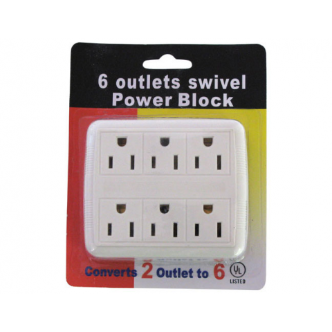 6-OUTLET POWER TAP