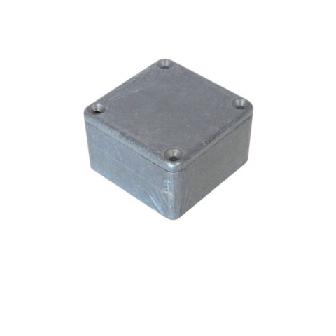 DIECAST ALUMINUM ENCLOSURE, 50.0 x 50.0 x 31.0 MM
