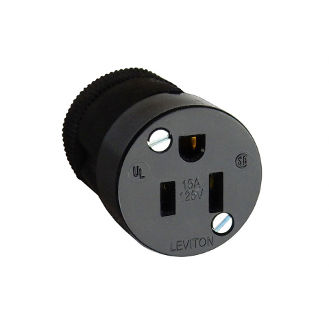 LEVITON 15A GROUNDED AC SOCKET