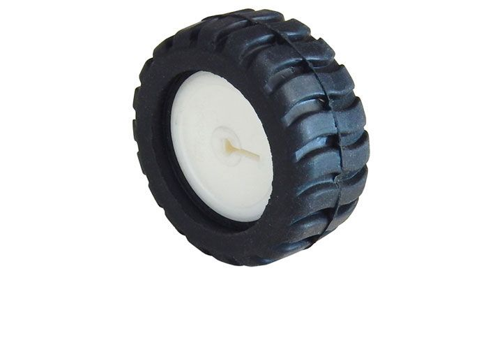 42MM DIAMETER RUBBER WHEEL