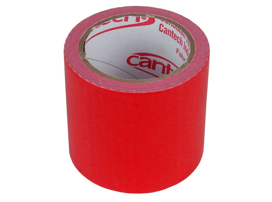 "RED CLOTH TAPE, 1.88"" X 4.3YD"