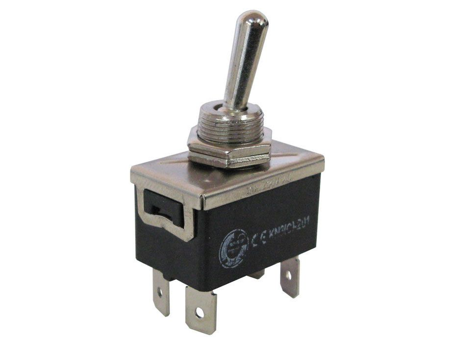 DPST HEAVY-DUTY TOGGLE SWITCH