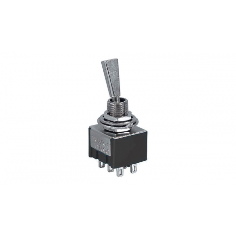 DPDT ON-ON MINI-TOGGLE SWITCH