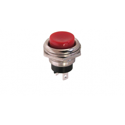 SPECIAL - NORMALLY CLOSED MOMENTARY PUSHBUTTON, RED