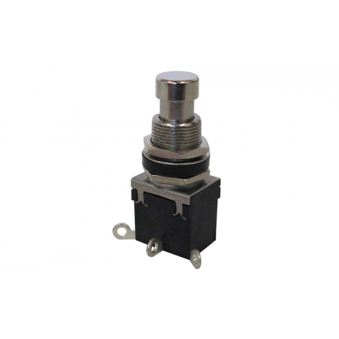 SPDT ON/OFF PUSHBUTTON SWITCH