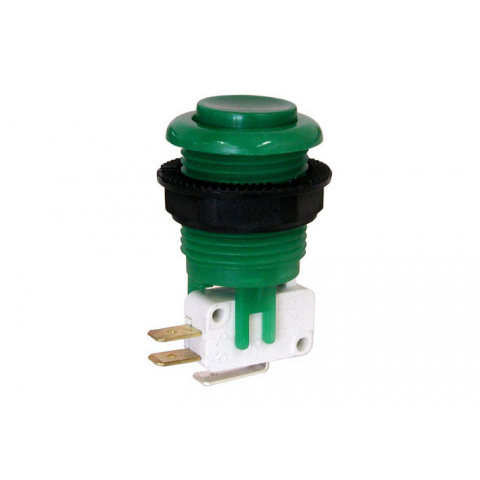 JUMBO PUSHBUTTON, GREEN