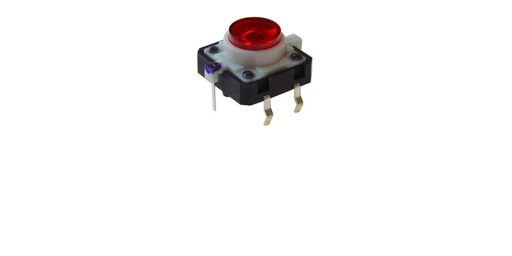 Metal MOUNTS MOMENTARY N//O normally open PUSH BUTTON SWITCH DC RED  on//off  b9