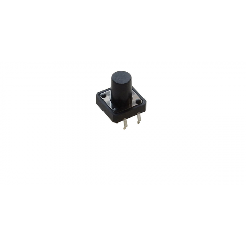 12MM TACTILE PUSHBUTTON, 12MM HIGH