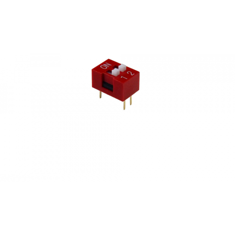 2-POSITION DIP SWITCH