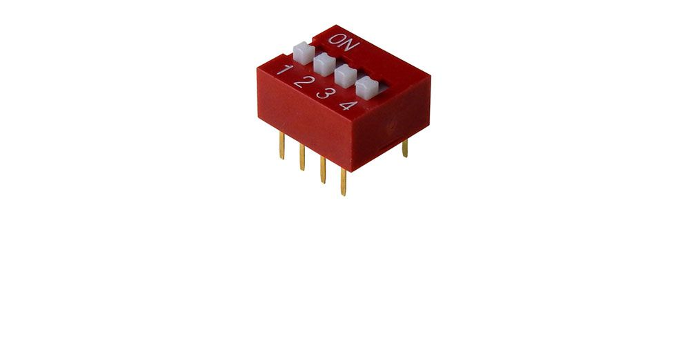 4-POLE DIP SWITCH