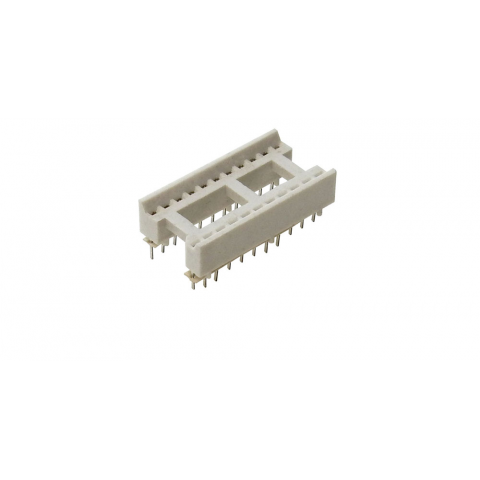 "22 PIN 0.40"" WIDE IC SOCKET, FITS CAT# FDA-5"