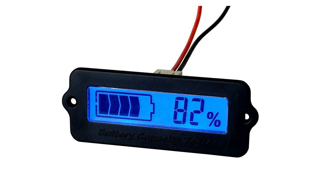 BATTERY LEVEL METER | All Electronics Corp.