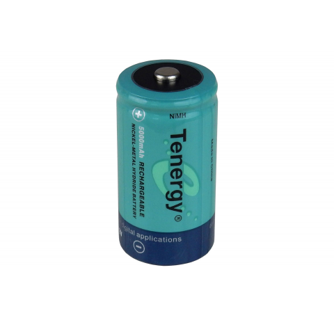 NIMH RECHARGEABLE C-CELL -- 5000 MAH
