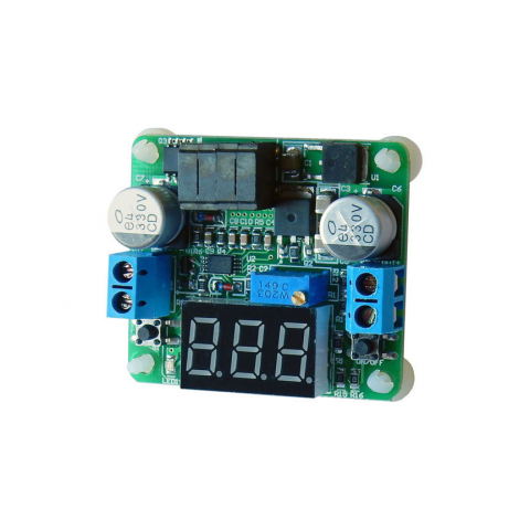2A BUCK-BOOST CONVERTER W/ LED DISPLAY
