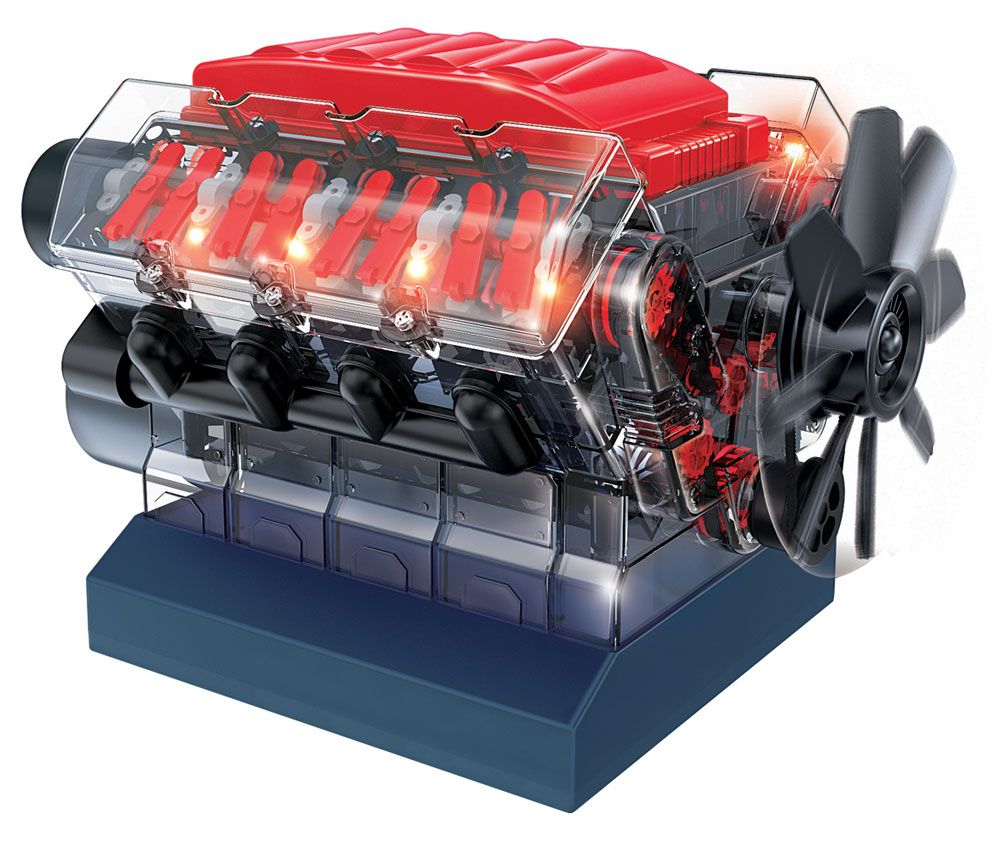 VROOM STEM V8 MODEL COMBUSTION ENGINE