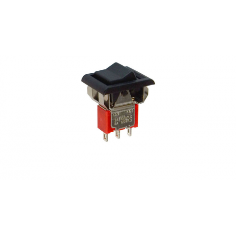 MINIATURE SPDT ROCKER SWITCH