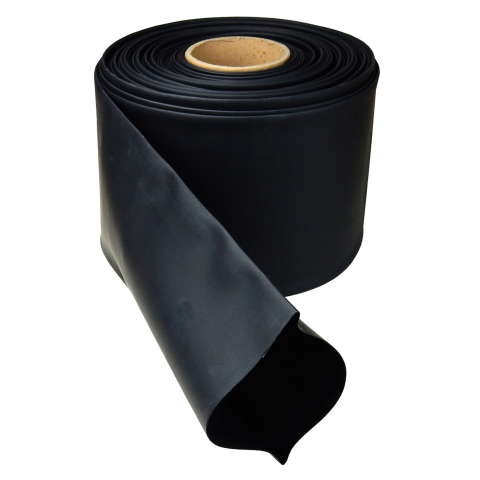 "4"" DIAMETER HEAT SHRINK TUBING, BLACK"