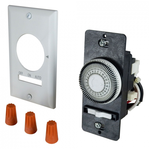 15 AMP MECHANICAL IN-WALL TIMER