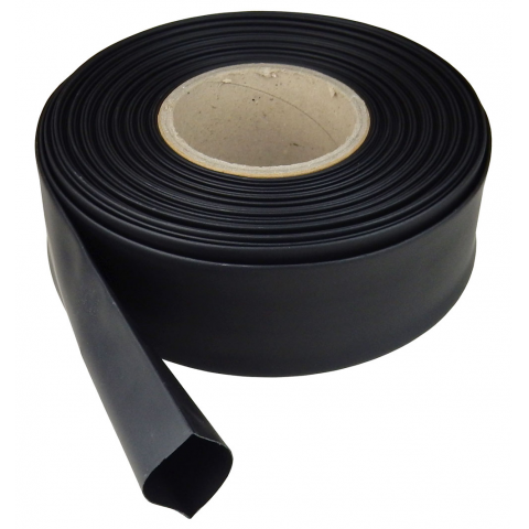 "1.5"" DIAMETER HEAT SHRINK TUBING, BLACK"