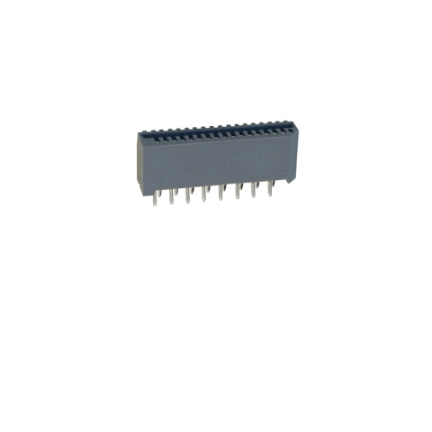 PC BOARD MOUNT CONNECTOR FOR 16-PIN FLAT FLEXI-CABLE