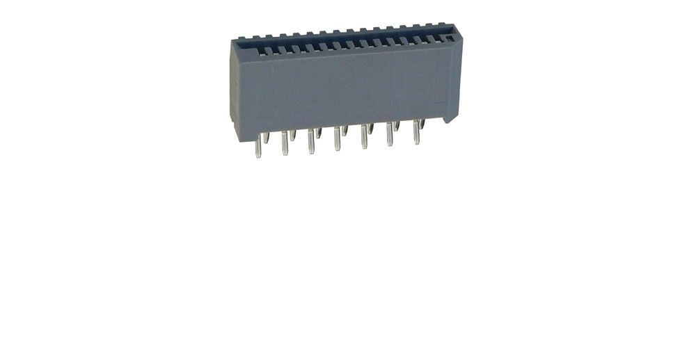 PC BOARD MOUNT CONNECTOR FOR 14-PIN FLAT FLEXI-CABLE