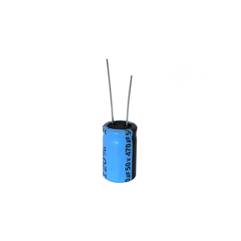 470 MFD 50V RADIAL 105C ELECTROLYTIC CAPACITOR
