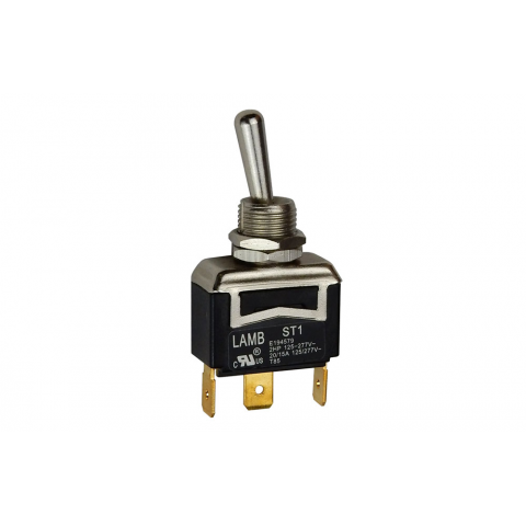 SPDT ON-ON, 20A TOGGLE SWITCH, UL