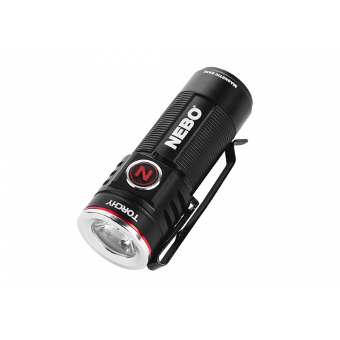TORCHY, RECHARGEABLE POCKET FLASHLIGHT