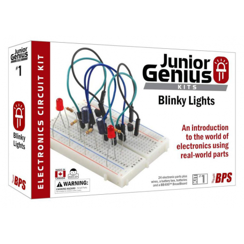 JUNIOR GENIUS BLINKY LIGHTS KIT