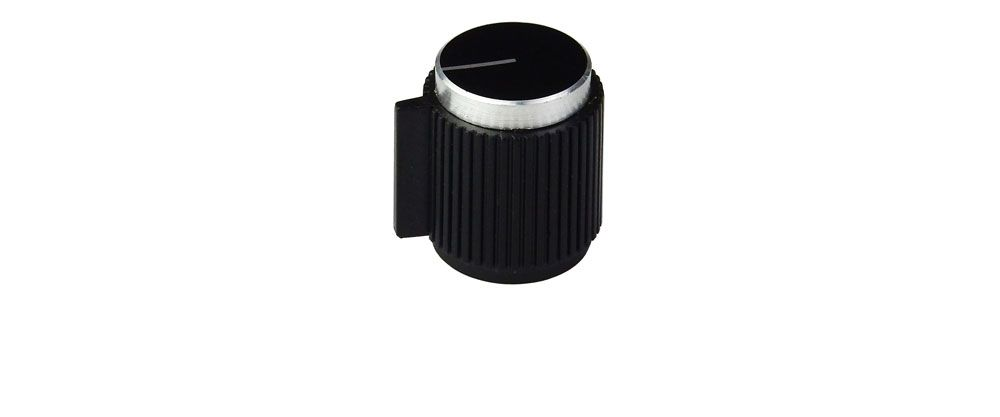 POINTER KNOB FOR 6MM SERRATED SHAFT