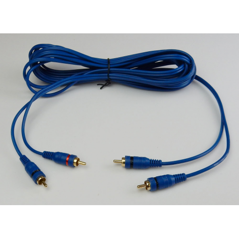 16 FT. DUAL RCA CABLE, HIGH-QUALITY
