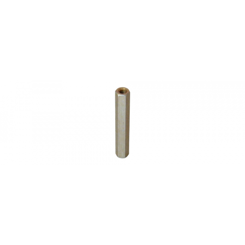 Round Standoff Stainless Steel #8-32 Screw Size Pack of 5 0.375 OD 1.187 Length, Female