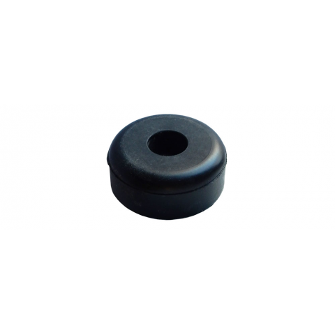 "RUBBER FOOT, 1.5"" DIAMETER X 0.6"""